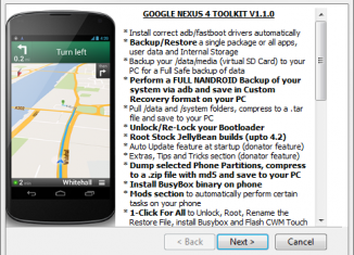 Root Nexus 4 Toolkit Download