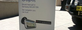 OOPS – Samsung Werbung gegen Apple iOS Maps