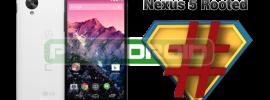 Nexus 5 Root: Anleitung zum einfachen Rooten!