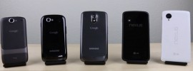 Der große Nexus Vergleich im Video von Nexus 5 bis Nexus One!