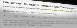 Top Tech Blogs: Die besten deutschen Android- und Tech-Blogger
