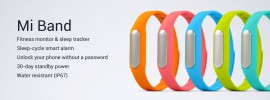 Xiaomi MiBand: Wearable Fitness Tracker zum Kampfpreis