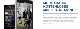 Nokia Mix Radio: Musik Streaming für Android und iOS von Nokia?