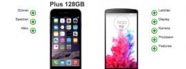 Apple iPhone 6 Plus: Vergleich mit LG G3