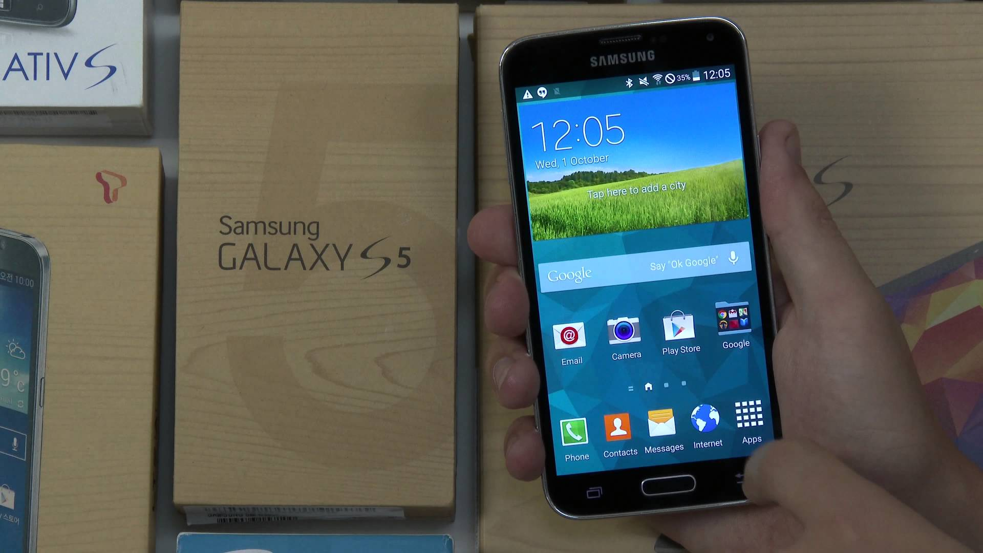 Video thumbnail for youtube video Video: Android L und Samsung Galaxy 5 im Test - andronews