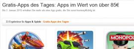 Happy New Year: Amazon Gratis Apps im Wert von 85 Euro