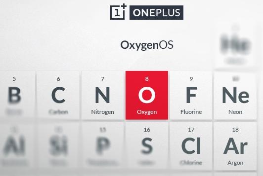Nicht der Breaking Bad Vorspann, sondern die grafische Ankündigung von Oxygen OS