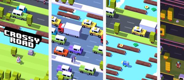 Crossy Road für Android: Frogger-Klon im Minecraft Design mit echtem Suchtfaktor!
