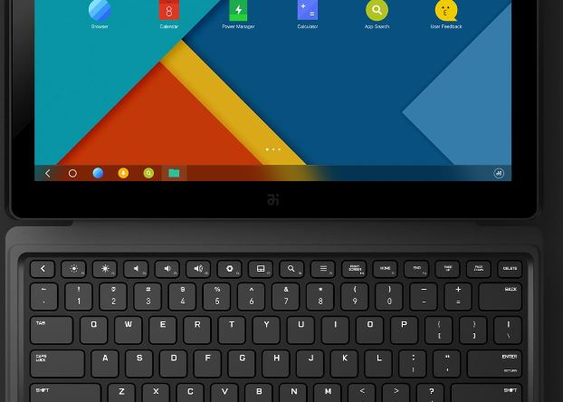 Remix Ultra Tablet: Android Notebook mit Power Bank Akku und Magnet-Tastatur
