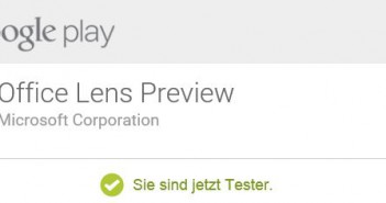 Microsoft Office Lens Android Preview: Testet die innovative Produktivitäts-App auf eurem Android Mobile Device!