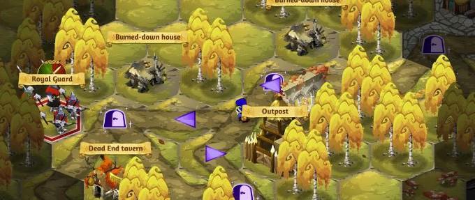 Crowntakers: Android Strategie-Hit mit RPG-Elementen und liebevoller Grafik
