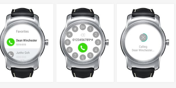 LG released LG Call für Urban Watch
