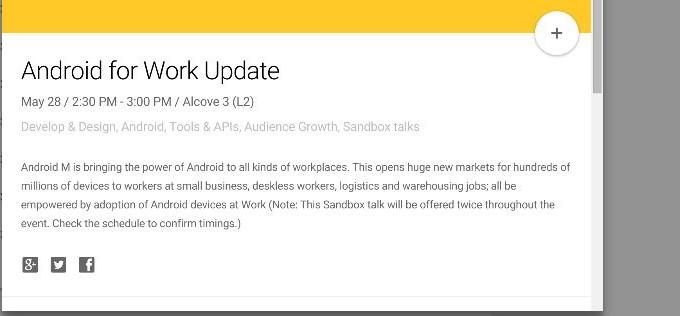Verräterischer Hinweis: Stellt Google noch diesen Monat Android M vor?