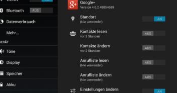 Kommt die App-Berechtigung aus Android 4.3 zurück?