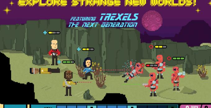 Mit Trexels ab ins Star Trek Universum!