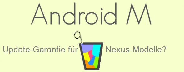Spekulativ: Update Garantie für ältere Nexus-Modelle?