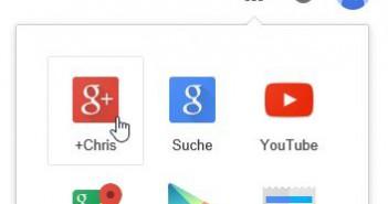 Wo ist Google+? Google entfernt Google+ Link aus der Direktauswahl