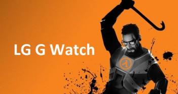 Half-Life auf LGs Wearable spielen?