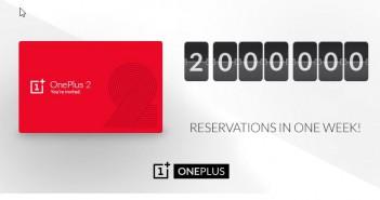 OnePlus 2 – 2 Millionen Vorbesteller