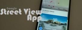 Street View: Ab sofort eigenständige Google-App