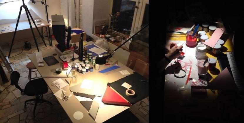 Carl Kleiners (Designer) Schreibtisch in Stockholm