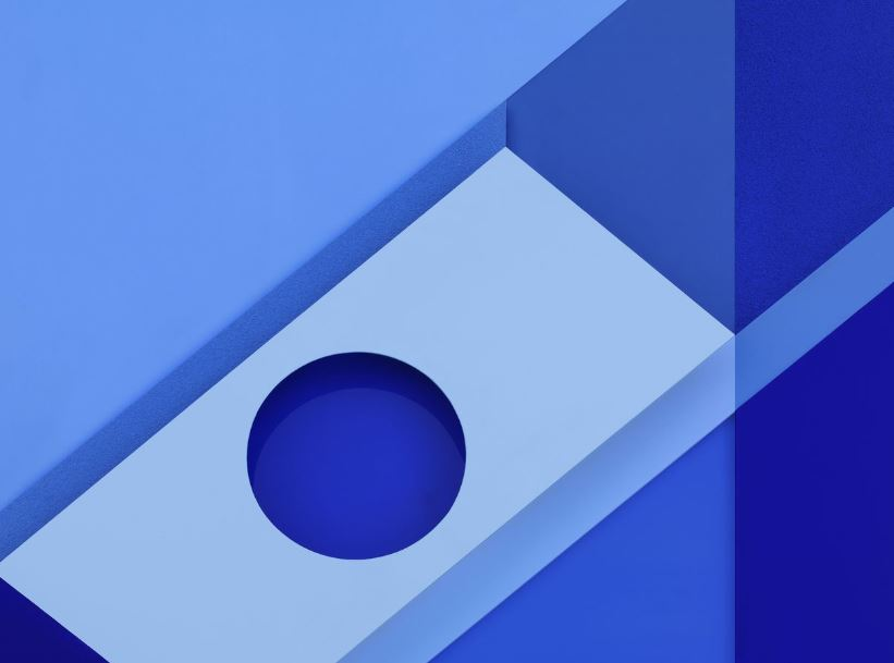 android m wallpaper text blaues wallpaper