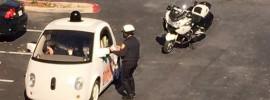 """""""Rechts ranfahren bitte!"""" – Verkehrskontrolle für Googles """"intelligentes"""" Auto"""