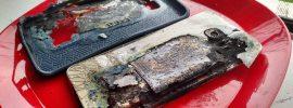Galaxy S6 Edge+: Smartphone fängt auf dem Bett Feuer