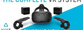 HTC Vive: Videobrille mit Zugriff auf Steam VR ist ab sofort erhältlich