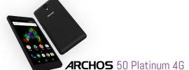 Archos 50 Platinum 4G: Einsteiger-Smartphone mit Android 6.0 für wenig Geld