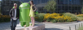 Android Nougat: Google zeigt offizielle Statue