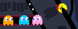 April-Scherz: Google lässt euch Ms. Pac-Man in Google Maps spielen