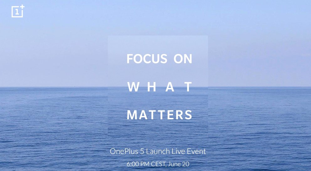 OnePlus 5: offizieller Launch - das Datum steht fest
