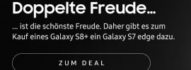 Samsung verschenkt Galaxy S7 edge zum Samsung Galaxy S8+